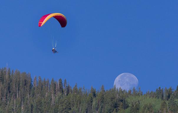 Aspen, Colorado Paragliding Photography