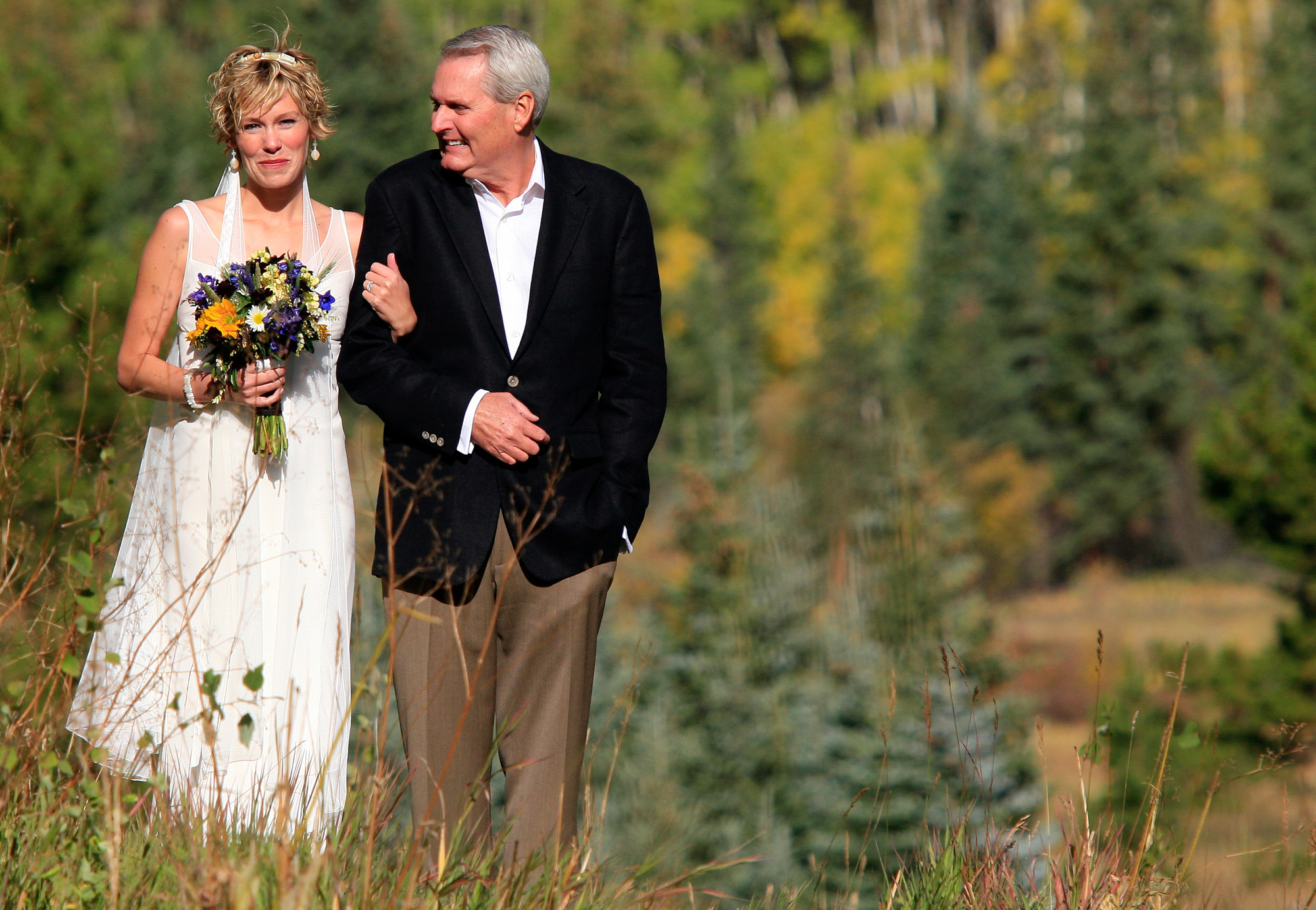 Ashcroft Fall Wedding - Colorado