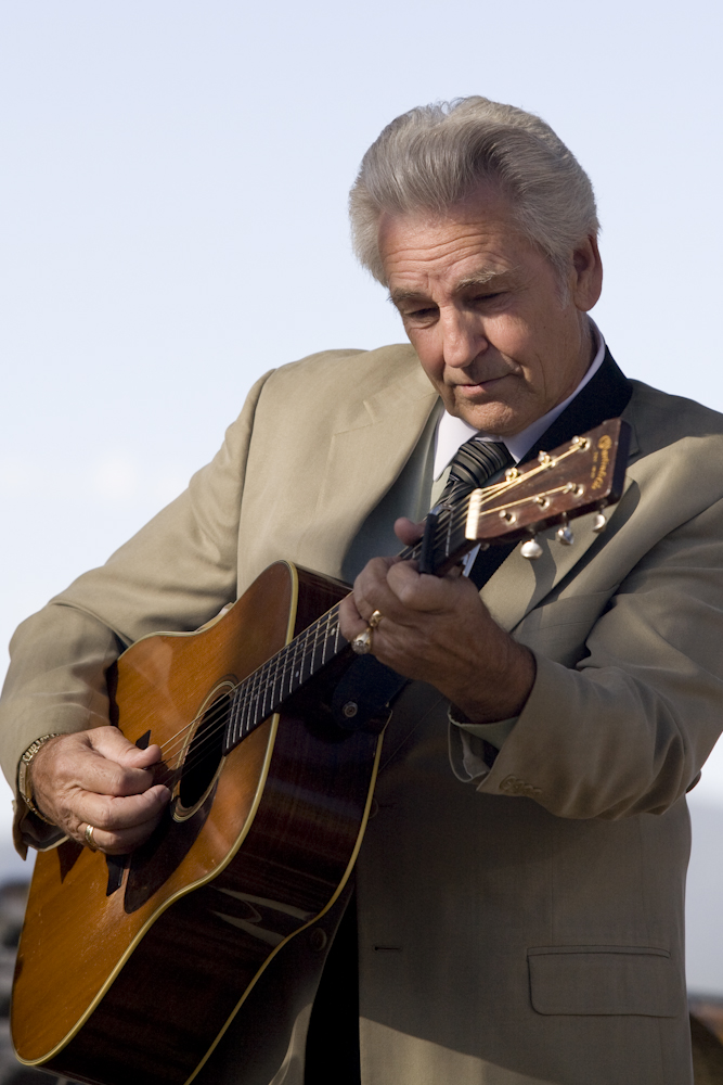 Del McCoury playing in Snowmass Village, CO