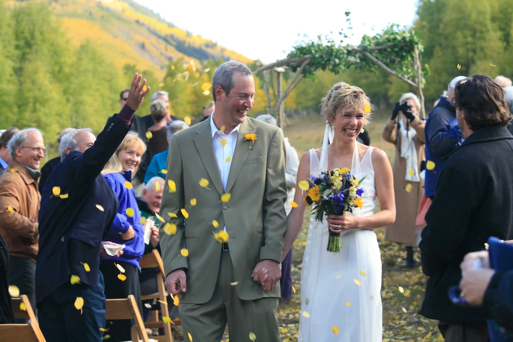 Fall Wedding Aspen